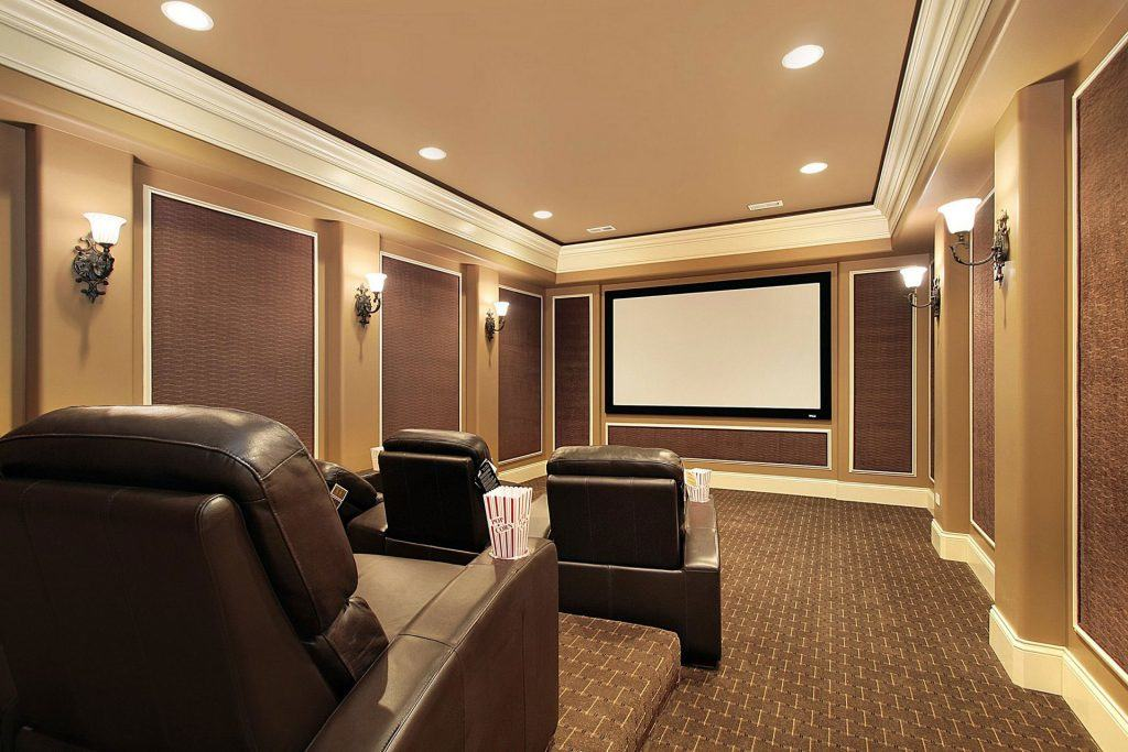 Home Theater Installation Project Cinema System
