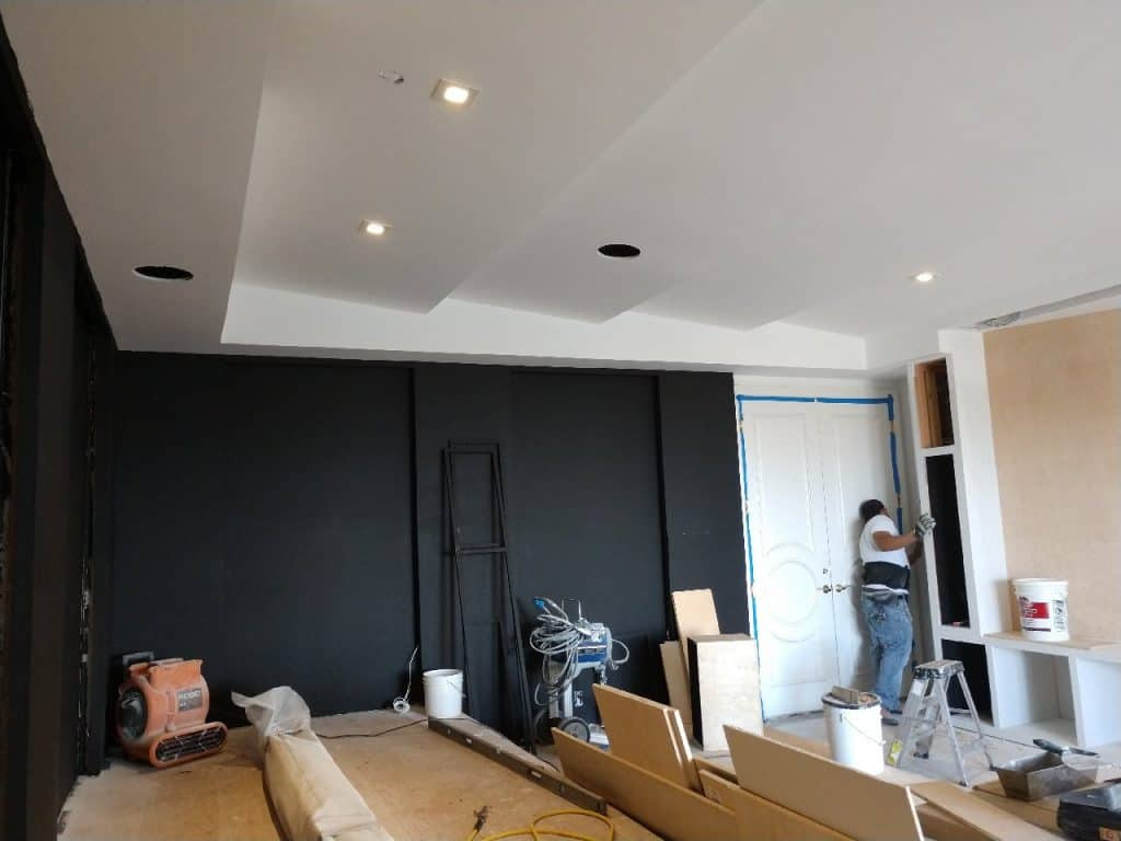 home theater installation project cinema system. Black Bedroom Furniture Sets. Home Design Ideas