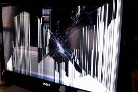 TV repair broken screen