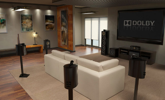 Home Theater Surround Sound Setup Cinema Systems