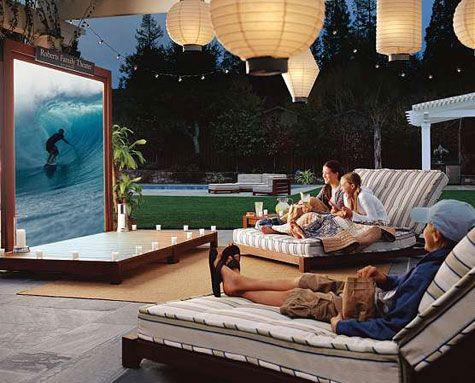 Outdoor Projector Guide