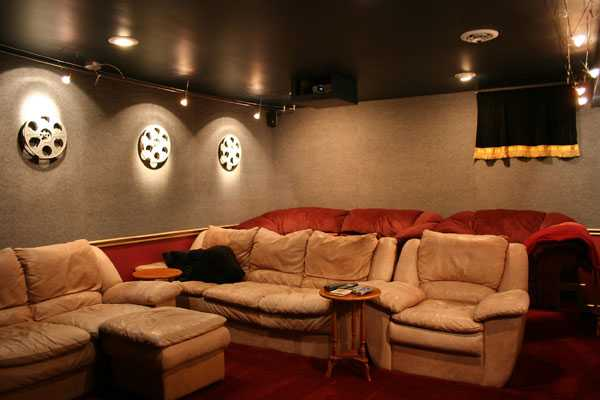 Tips For Color And Decoration A Home Theater Room
