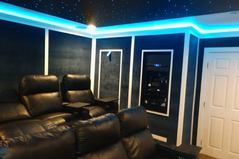 Home Theater Installation December 2019