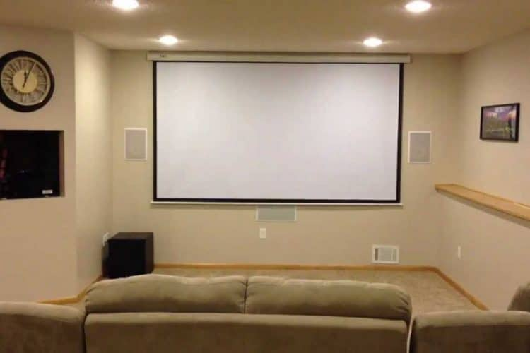 Custom home theater on a budget